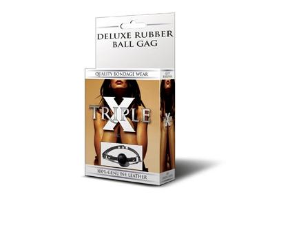 Deluxe Black Ball Gag