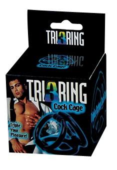 Tri Ring Cock Ring