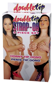 Double Tip Strap On